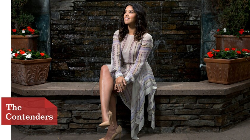"Gina Rodriguez, star of the CW's ""Jane the Virgin,"" stays grounded despite her escalating fame."