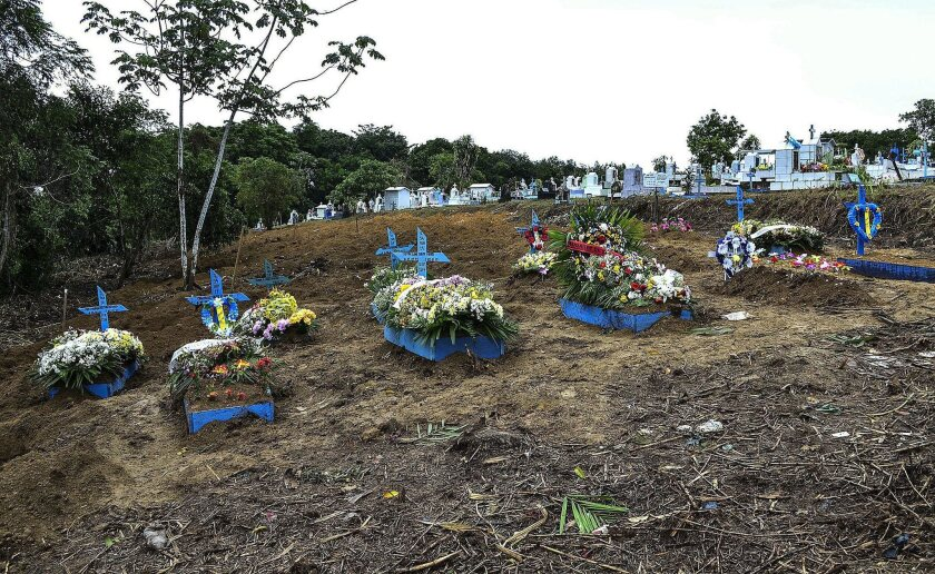Funeral of victims of prison riot in Manaus