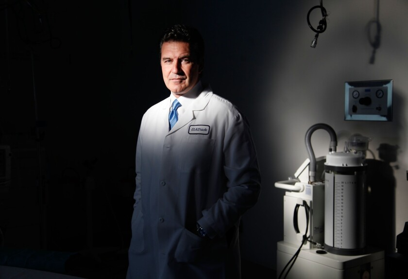 Dr. Neal ElAttrache has performed surgeries on some of the most famous athletes in the world, including Lakers star Kobe Bryant and Dodgers pitcher Zack Greinke.