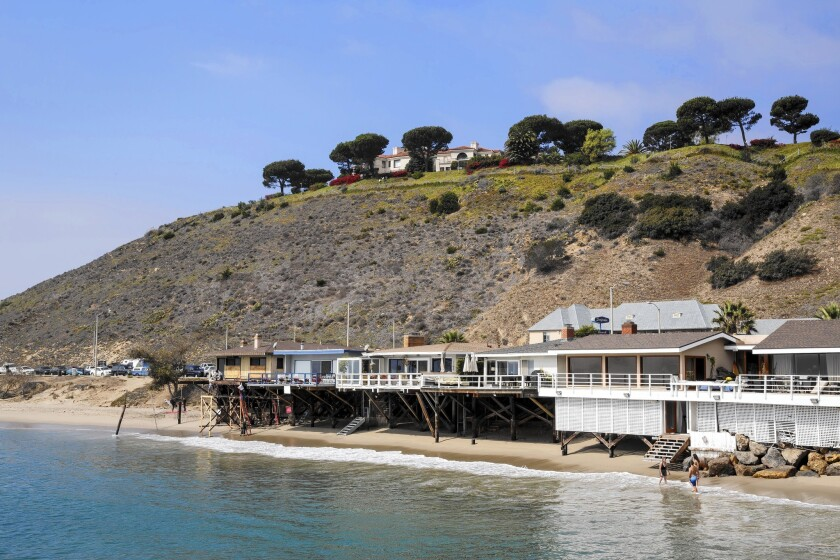 The hilltop mansion in Malibu owned by Equatorial Guinea Second Vice President Teodoro Mguema Obiang overlooks the Malibu Pier.