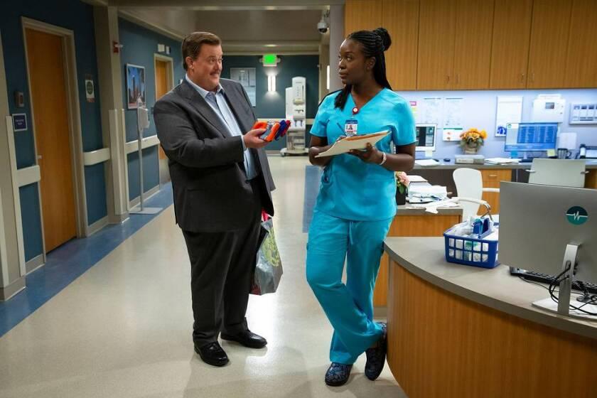 """Scene from CBS' romantic comedy """"Bob ♥ Abishola"""""""