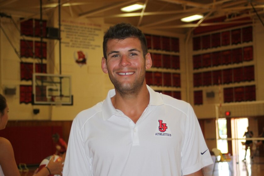 La Jolla High's newest varsity girls volleyball coach is Drew Burdette.