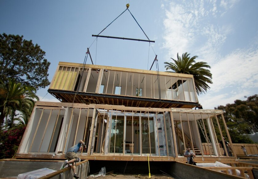 La Jolla Home Gets 'Stacked'