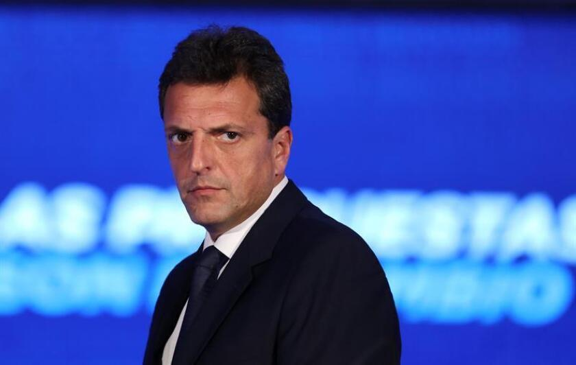 El dirigente del peronista Frente Renovador, Sergio Massa. EFE/Archivo