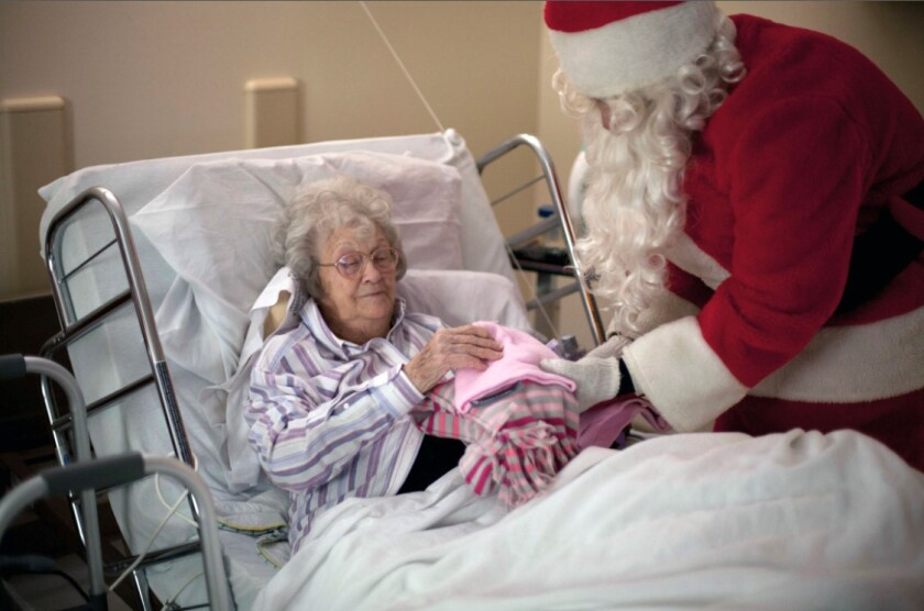 Be a Santa to a Senior relies on the support of the North County San Diego community.