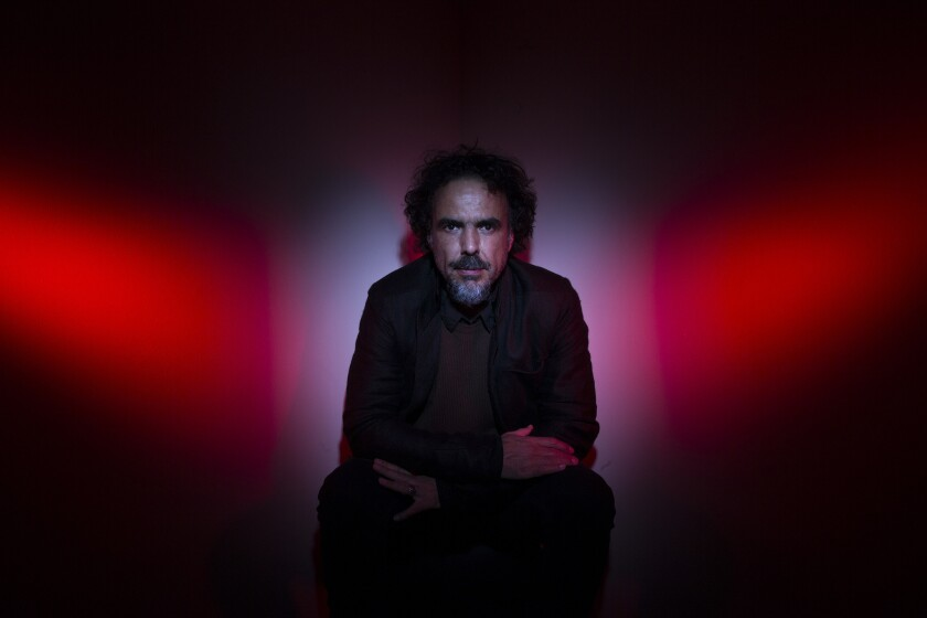 """Alejandro G. Inarritu, subject of a retrospective at the Landmark Theatre in West L.A. this week, said """"Birdman"""" was a film about the creative process that he made while he was reconsidering his own creative process as a director."""