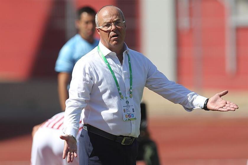 El director técnico de la selección ecuatoriana de fútbol Sub20, Jorge Célico. EFE/Archivo