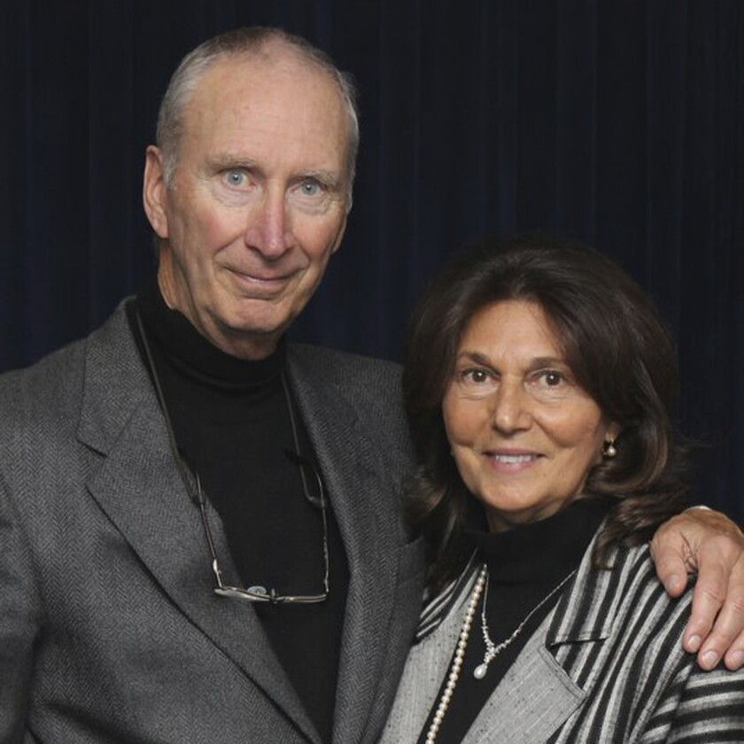 This undated photo provided by Michael Van Hecke shows Roy Rohter and his wife, Theresa. Roy Rohter