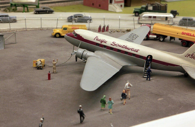 Life in miniature at model railroad museum