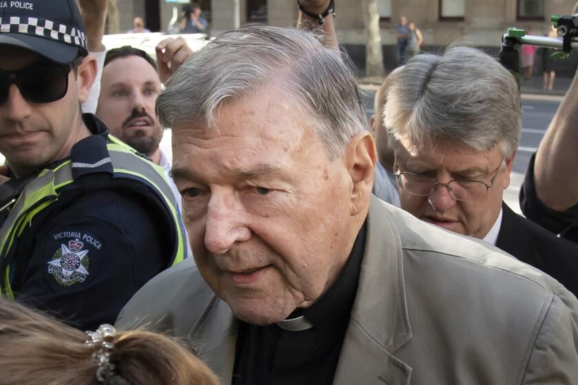 Roman Catholic Cardinal George Pell of Australia