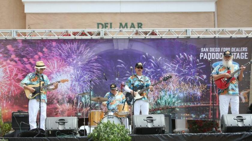 The Del Mar Fairgrounds is a popular location for concerts.