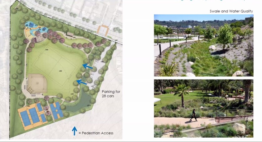The design for the new PHR park reflects amenities preferred by the community.