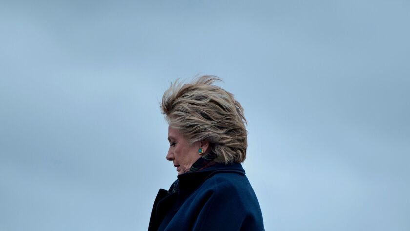 Hillary Clinton during the 2016 campaign.