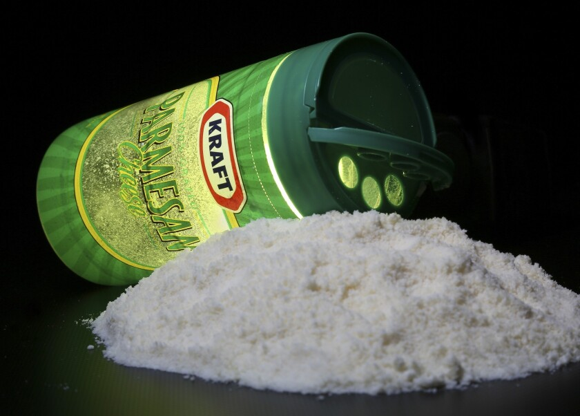 The European Union wants to ban the use of the name Parmesan for any cheese not made in Parma, Italy.