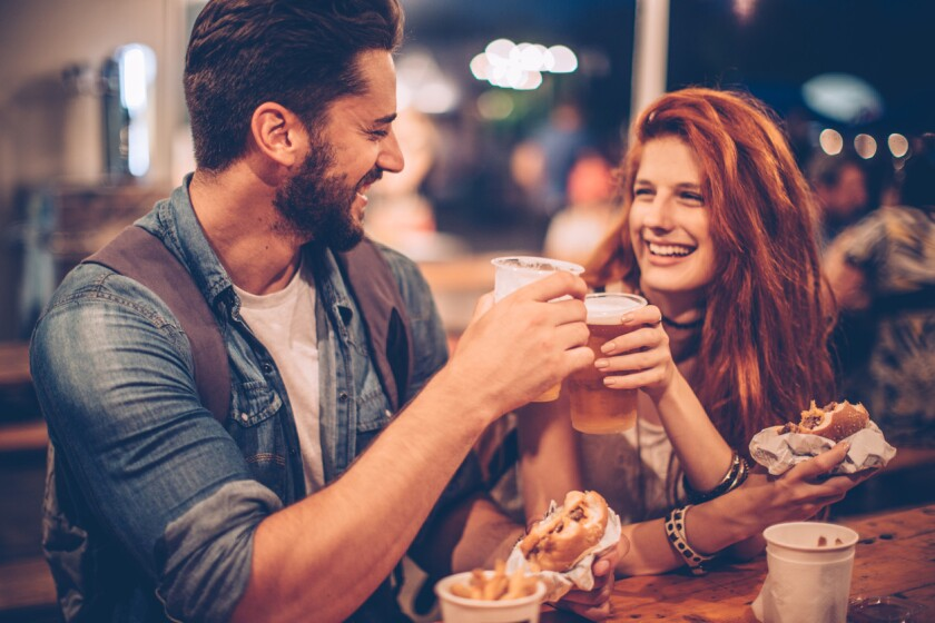 A few simple terms will help you navigate conversation on a date with a beer geek. (iStock)