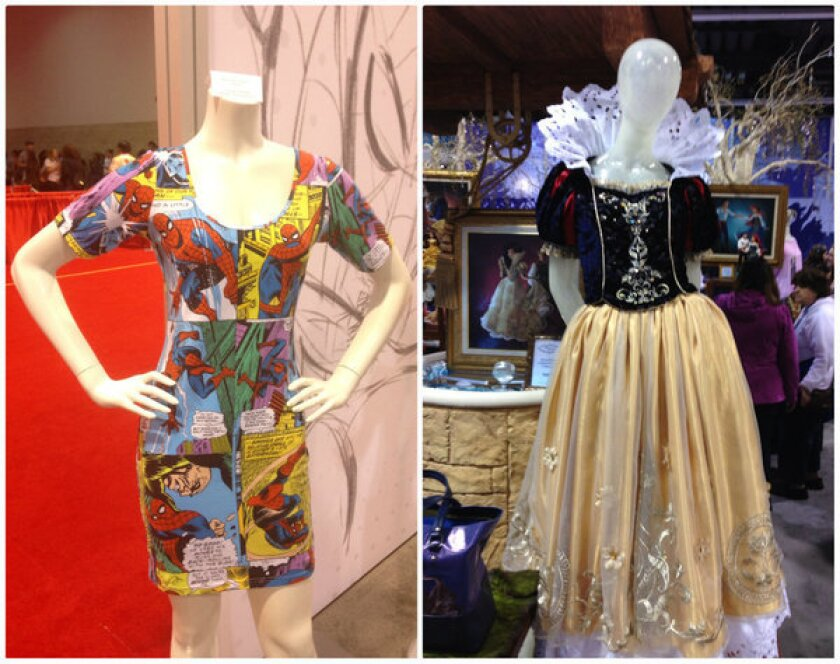 Dresses with character from D23 Expo 2013