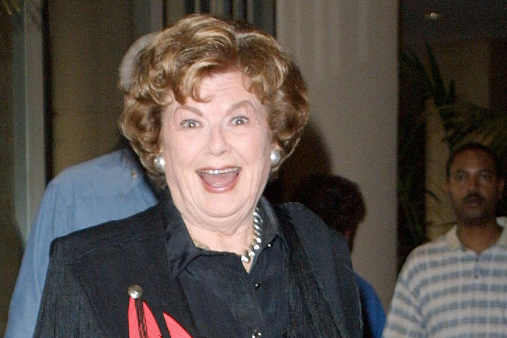 Emmy winner Barbara Hale, who played Perry Mason's secretary, has