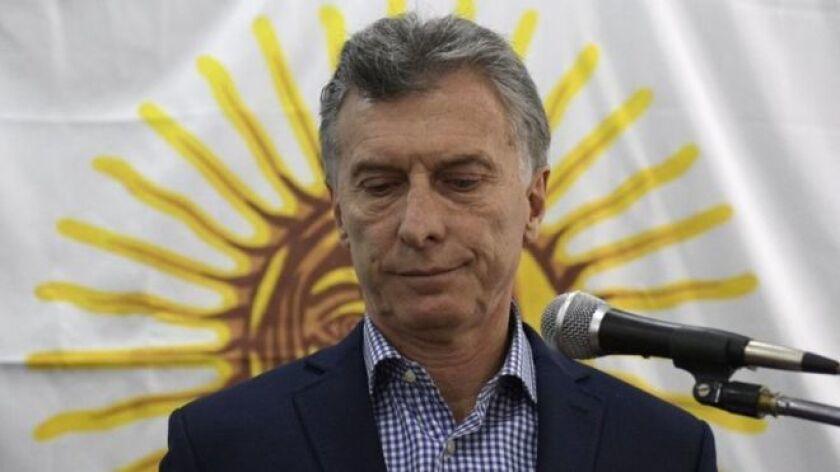 Macri: No busquen culpables