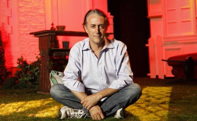 """Sean Murray, co-director of Cygnet Theatres presentation of Alan Ayckbourn's comic trilogy """"The Norman Conquests."""""""