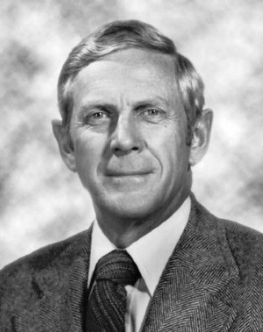 Dwight R. Crandell's work formed the basis of volcano hazard assessment.
