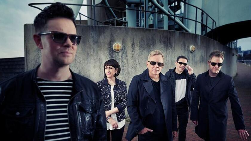 The English post-punk band New Order is returning to Coachella, after performing at the festival in 2005 and 2013. (Photo by Nick Wilson)