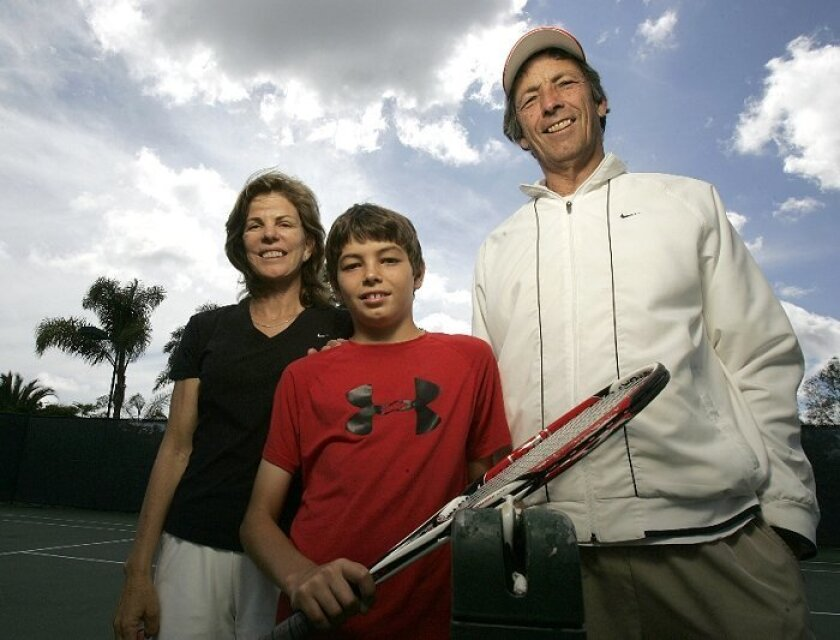 Tennis runs in the family for top-ranked player Taylor Fritz: Parents  Kathy May Fritz and Guy Fritz spent time on the pro circuit. The parents share coaching responsibilities for their 11-year-old son.