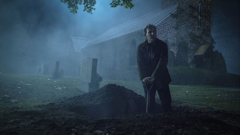 """Jason Clarke as Louis in """"PET SEMATARY,"""" from Paramount Pictures. Credit: Kerry Hayes/Paramount Pic"""
