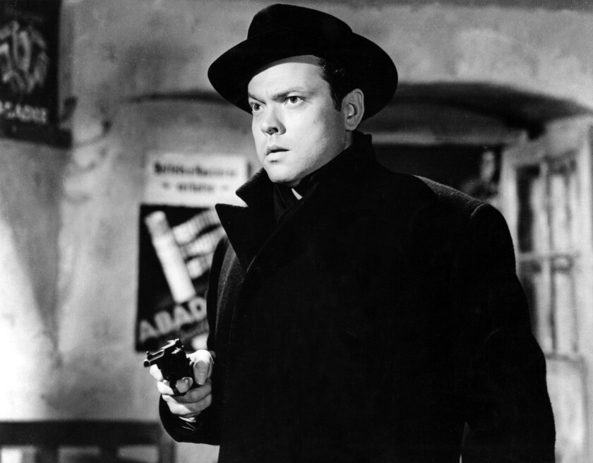 Orson Welles gets 4K restoration of 'The Third Man' for 100th birthday