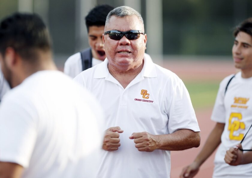 Glendale Community College cross-country coach Eddie Lopez and the Vaqueros are looking for continued success this season.