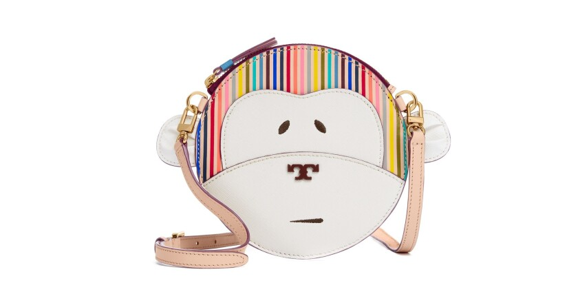 Tory Burch monkey tote