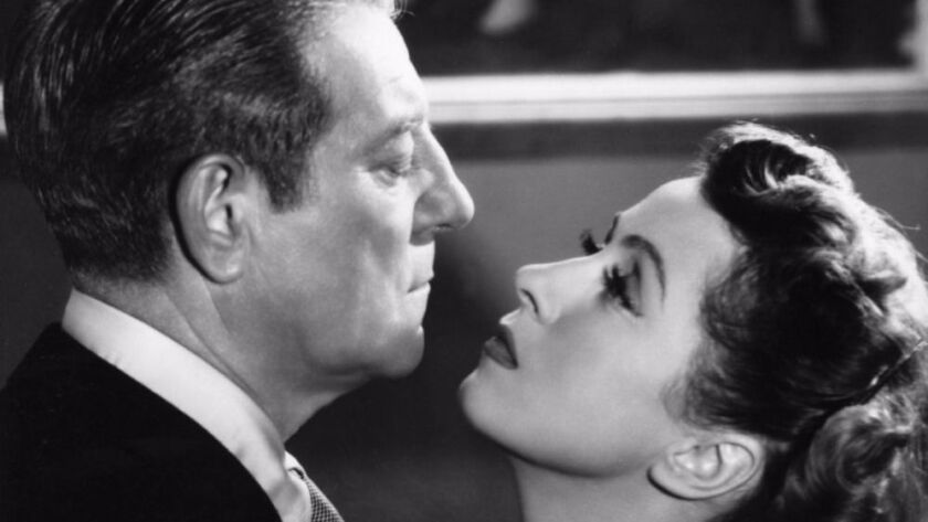 "Jean Gabin and Danielle Darrieux as a dysfunctional married couple in Henri Decoin's 1953 film ""The"