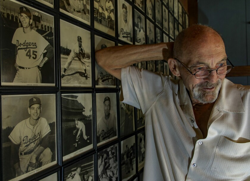 Former Dodger starting pitcher Stan Williams says he has still never gotten over.