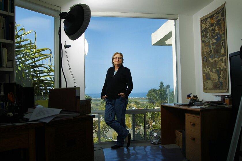 Ocean view at Jeanne Loring's home in Del Mar.