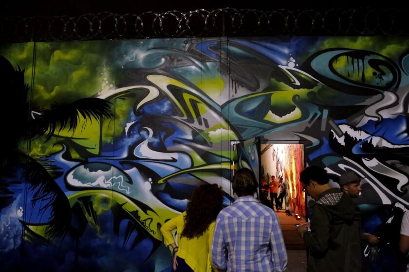 Google Street Art launch party