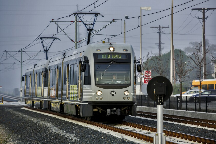 An extension of the Metro Gold Line is among the proposed transit projects that would be funded if voters approve a sales tax increase in November that seeks to raise $120 billion for transportation.