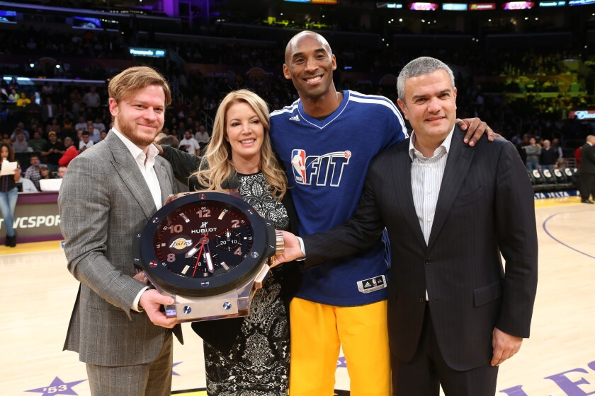 Hublot signs deal to be Lakers' 'official timekeeper'