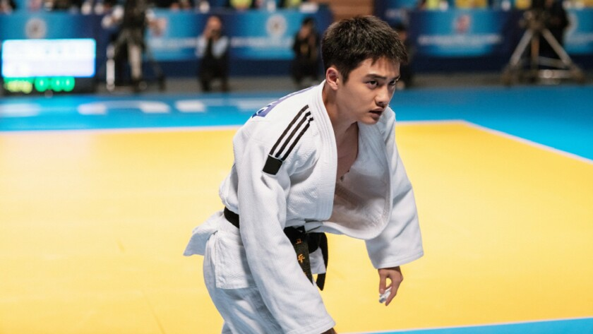 """Doh Kyung-soo in the movie """"My Annoying Brother."""""""