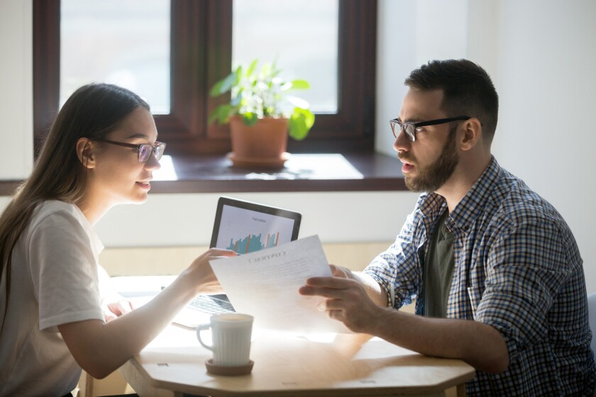 Half of young Americans see better financial future, according to poll.
