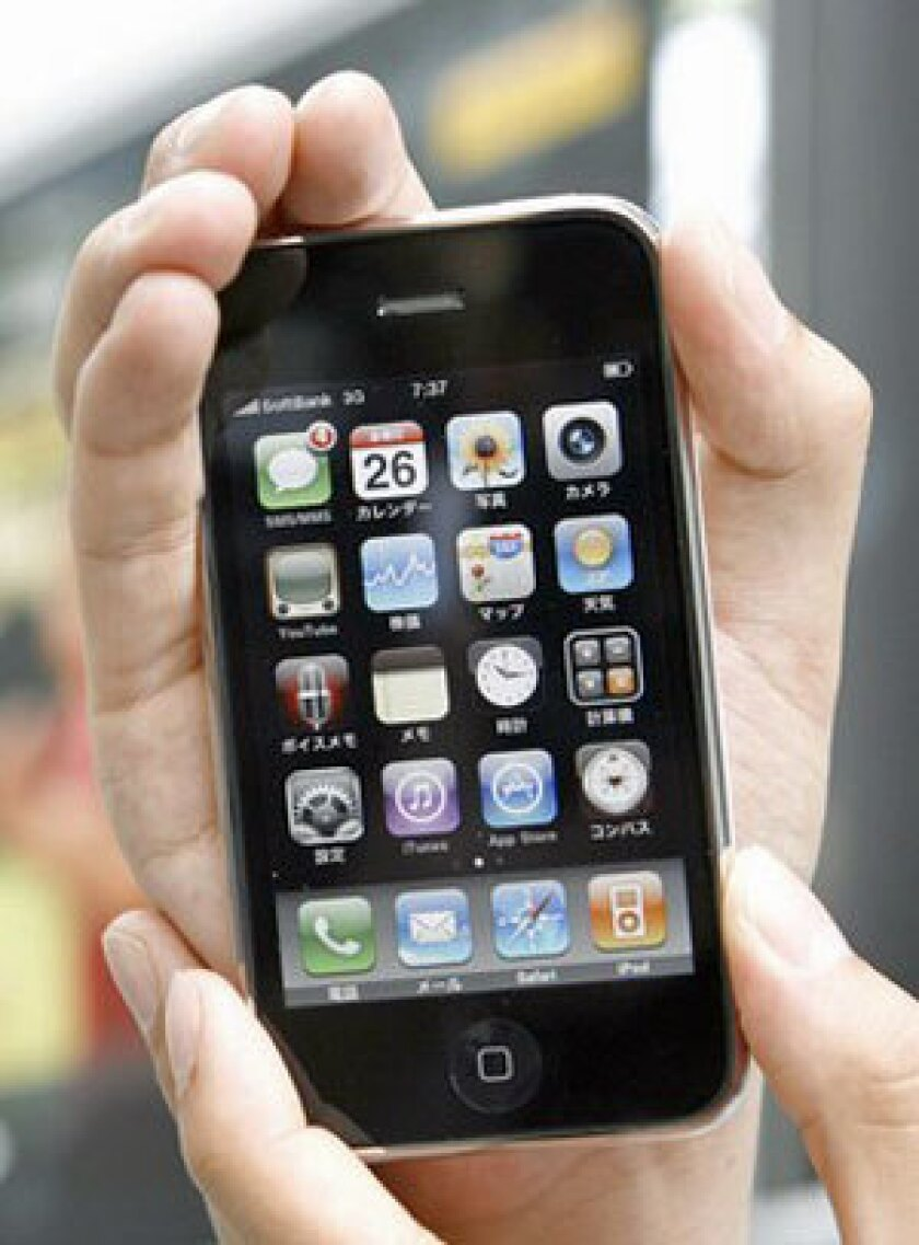 The many capabilities of Apple's iPhone 3GS are also a drain on the device's battery.