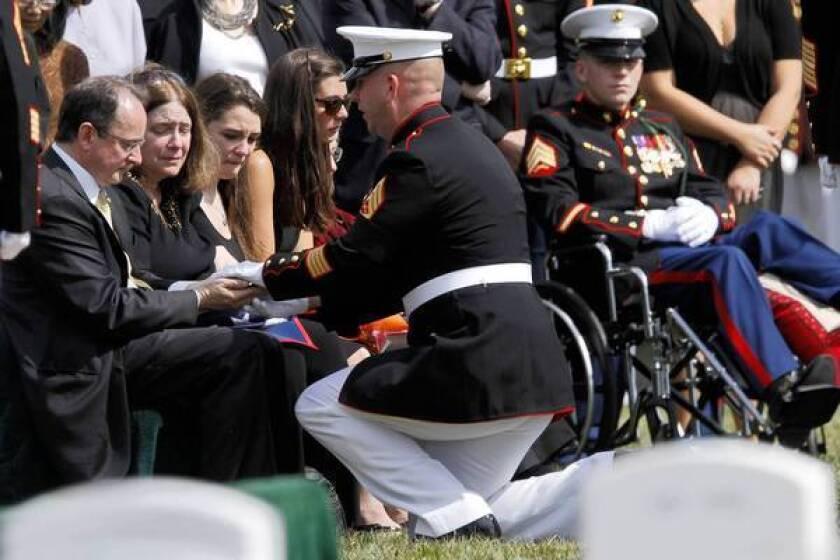 William C. Stacey dies at 23; Marine sergeant from Seattle