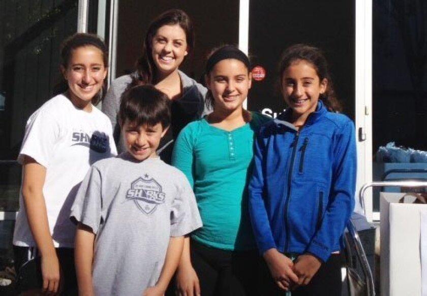 The Carmel Valley Pantry Kids.