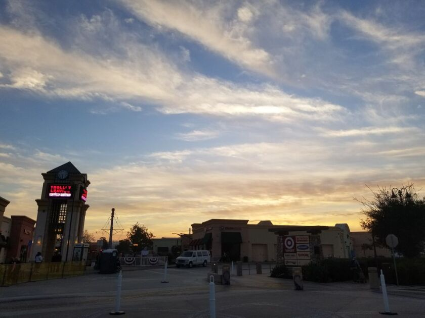 Santee Trolley Square could be a place to watch Dec. 1 fireworks for Santee's 40th.