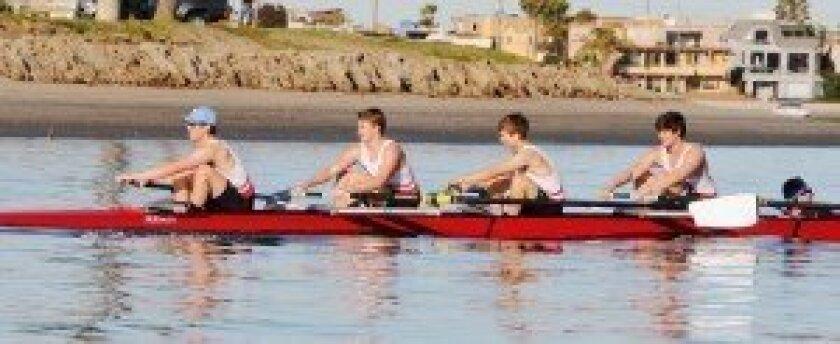 San Diego City Championship: Men's Varsity 4+ Courtesy photo
