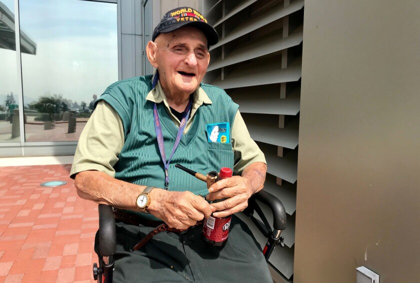 "World War II veteran Rubin Elfman is a supporter of President Trump but doesn't understand the commander in chief's obsession with late Sen. John McCain. ""Listen,"" Elfman said, ""the man served his country."""