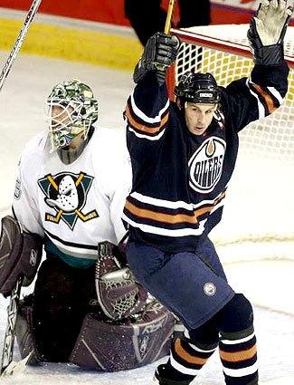 Mighty Ducks vs. Oilers