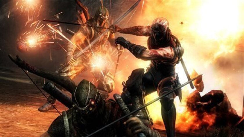 Game Review Ninja Gaiden 3 A Letdown For Fans The San Diego