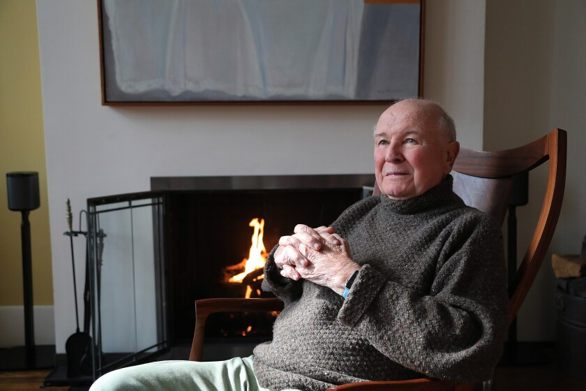 Terrence McNally photographed this year at home in New York.
