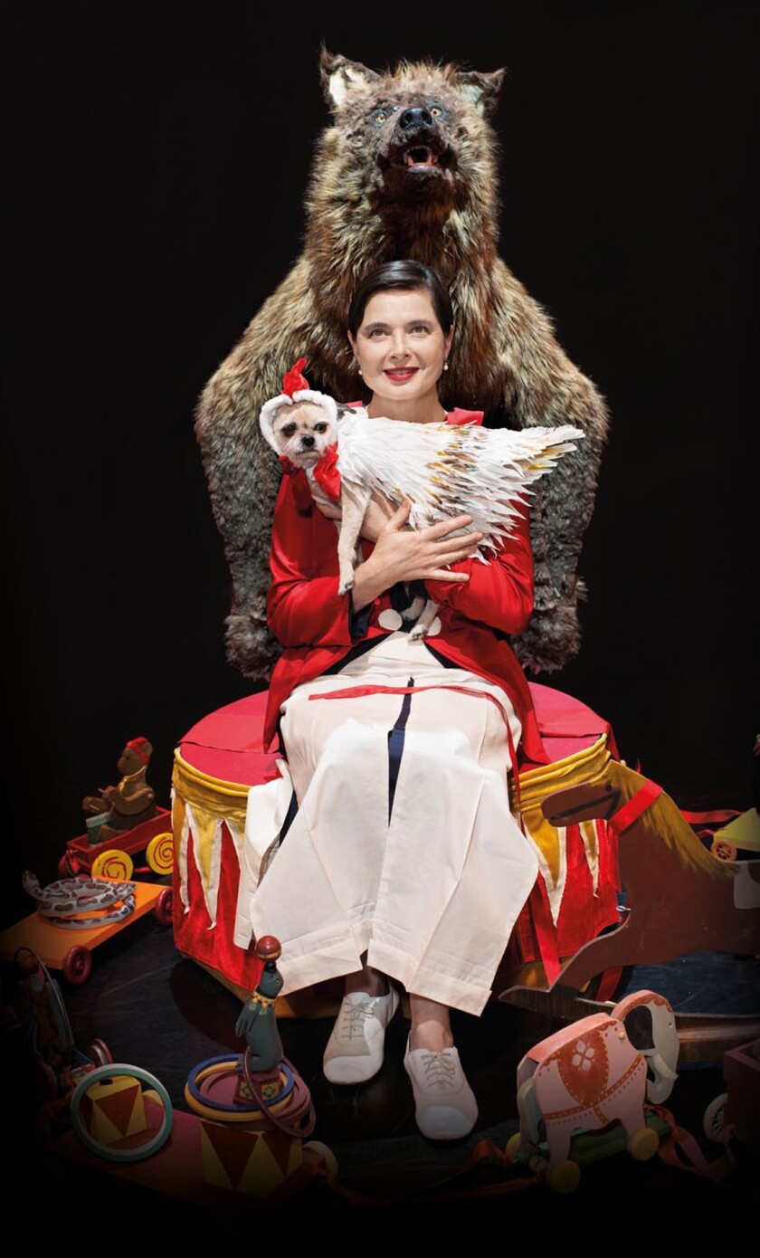 Isabella Rossellini's 'Link Link Circus'