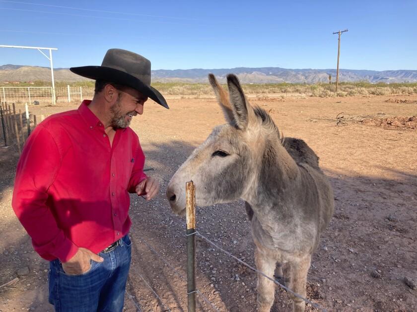 Couy Griffin, comisionado del condado Otero y creador de la organización Cowboys for Trump
