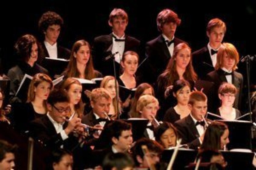 The Canyon Crest Academy Orchestra, Choir, Wind Ensemble, Symphonic Band and special guests from the Carmel Valley Middle School Wind Ensemble will be performing in a concert of heroic proportions on Thursday, Oct. 25, at 7 p.m.